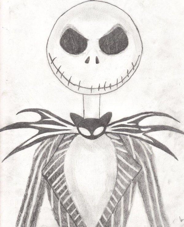 jack skellington drawings - 600×740