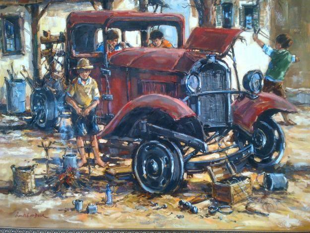 Andre de Beer - Truck. Stunning piece!