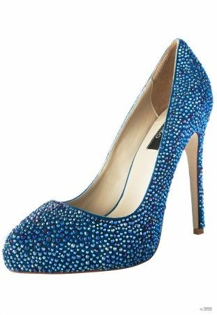 Janiko női magassarkú cipő  Boujis kék