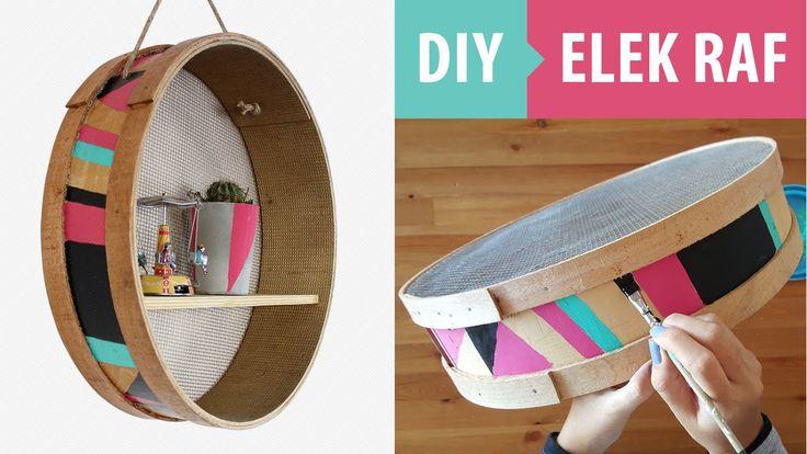 DIY: Elek Raf Yapımı | Kendin Yap Dekorasyon