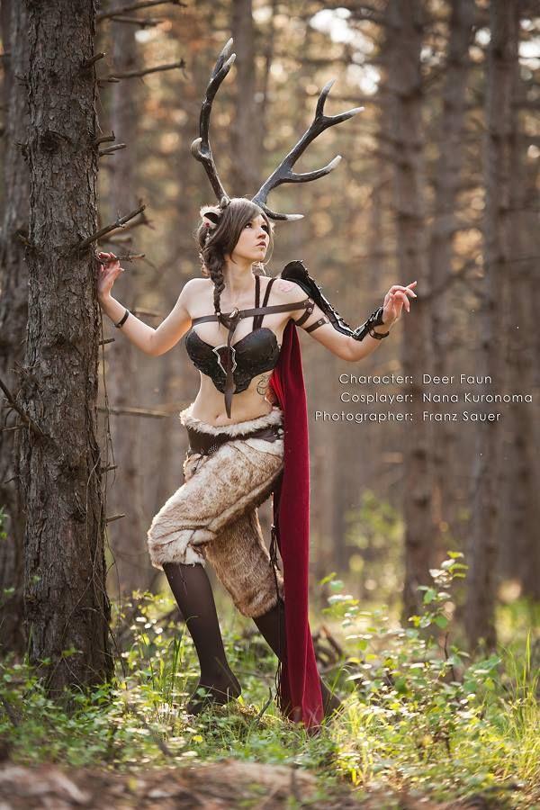 Nice Nana Kuronoma Dressed Up As Deer Fawn. Photo By Franzis.