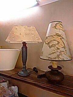 Lampade pergamena nautica