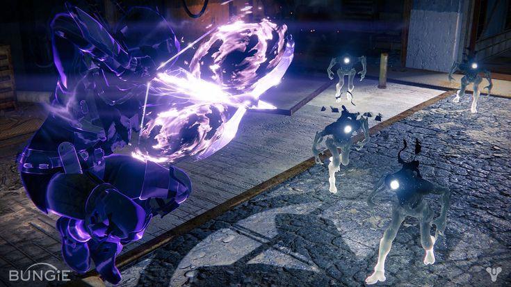 Destiny The Taken King - Void Hunter Nightstalker