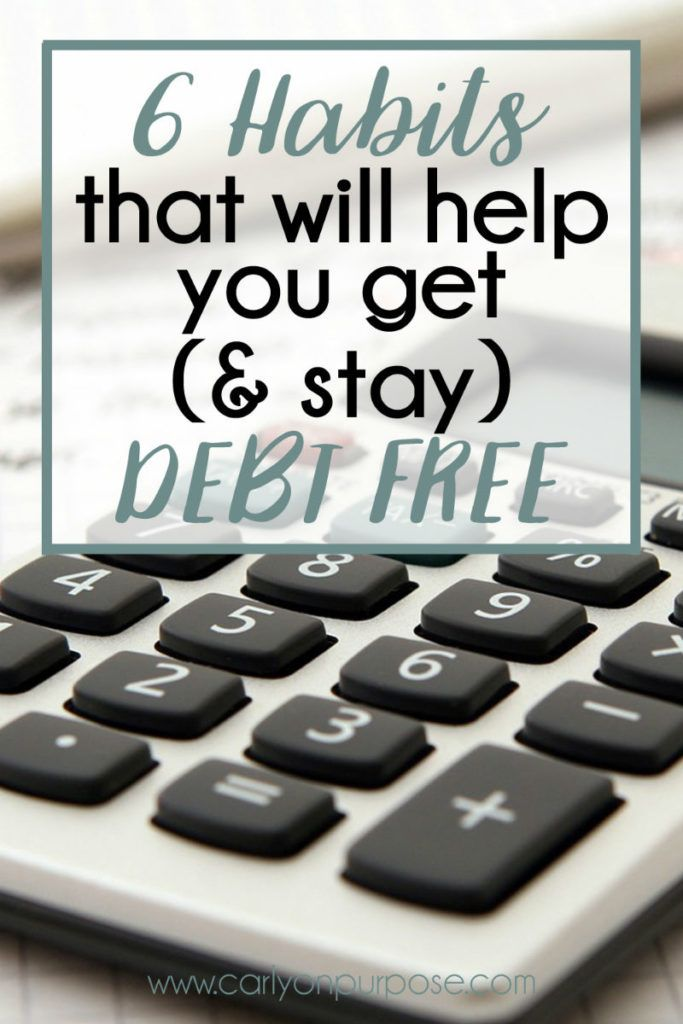 This woman shares her secrets to STAYING out of debt and living debt free.