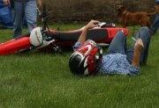 10. Summer sport:  dirt biking (i'm up more than i'm down ;)