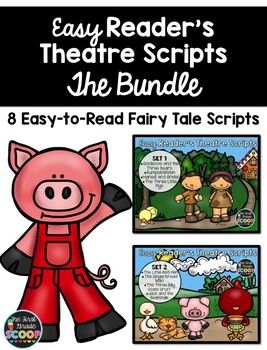 ***BUY THE BUNDLE AND SAVE 20%!***Reader's theatre scripts provide a perfect opportunity for repeated reading and fluency practice, but often, scripts are difficult for many of our early learners and emergent readers.These easy reader's theatre scripts are based on eight popular fairy tales.
