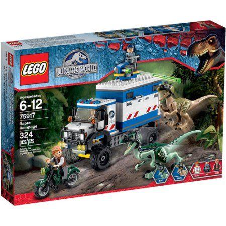 Lego Jurassic World Raptor Rampage, Multicolor