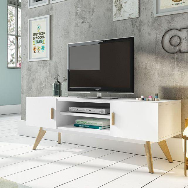 Les 25 meilleures id es de la cat gorie meuble tv - Comment cacher fils derriere meuble tv ...