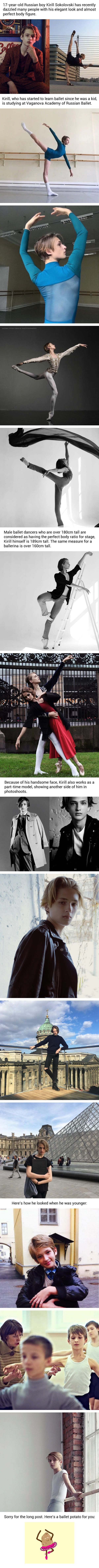 17 Year-old Russian Boy Stunned The Internet By His Elegance