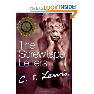 an analysis of the book the screwtape letters and the english patient Screwtape advises wormwood to direct the patient's desire for heaven to trying to create it on earth through various means like politics all of us can lose perspective on the proper place of politics.