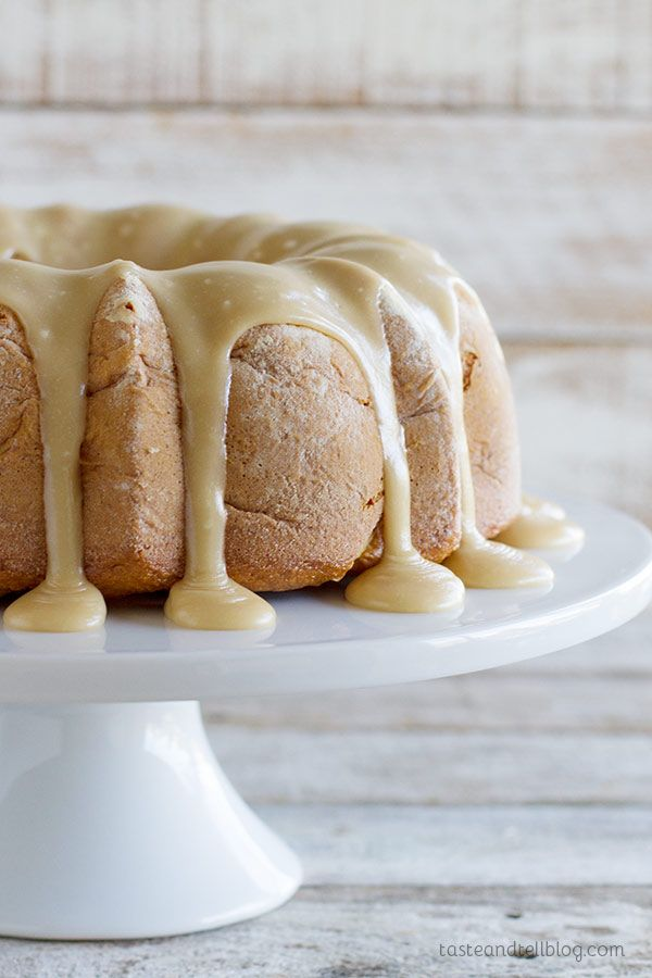 Carmel Apple Bunt Cake