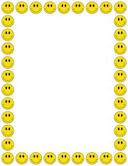 Smiley Face Border