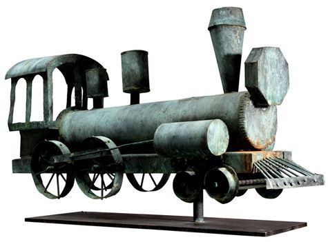 Locomotive Weather vane!