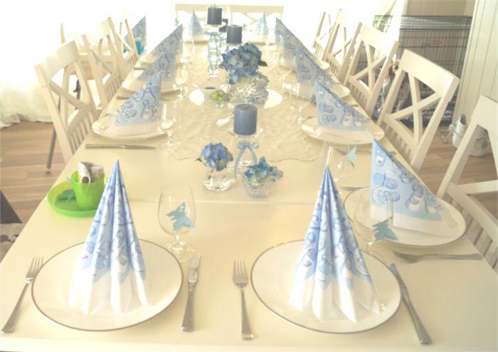 Hvordan pynte festbordet selv til dåp? Her finner du tips og ideer på du kan pynte festbordet selv til dåpsfeiringen. Trenger du hjelp med å planlegge dåpen kan siden www.planlegg.no hjelpe deg. Lykke til :)