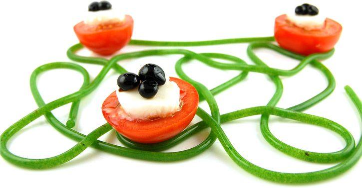 Arugula Agar Spaghetti - - Molecular Gastronomy