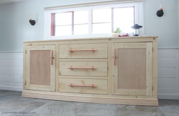 Extra Long Buffet Cabinet