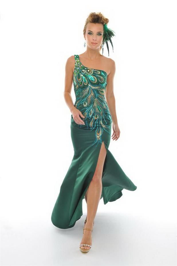 Evening dress royal blue 9301