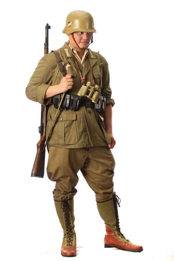 Afrika Korps Uniforms | ... . again, much of the uniform, including the boots were locally made