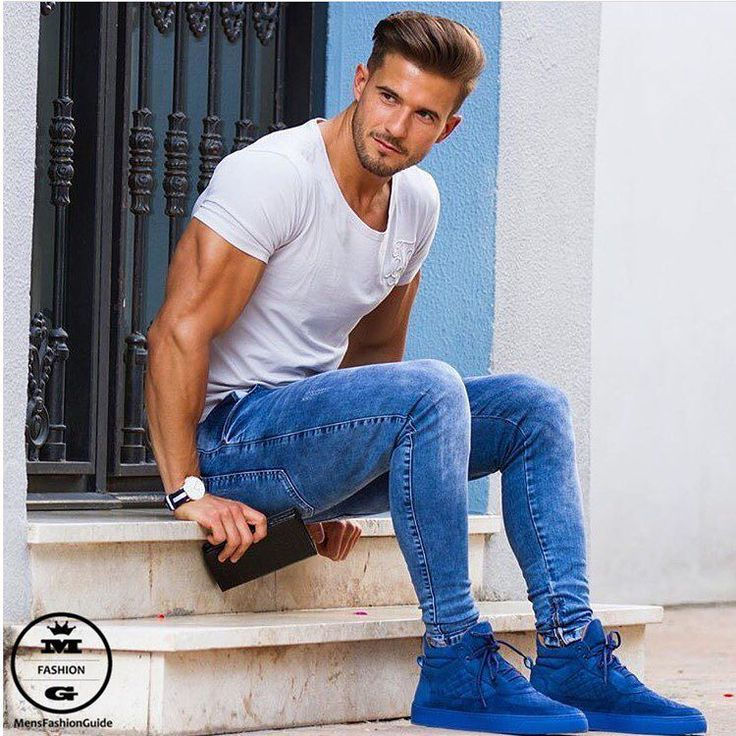 Mens Fashion Guide Via Instagram Leather Jeans Pinterest Mens