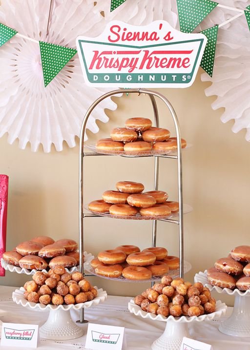 There is NO BETTER doughnut than KRISPY KREME!!! DOUGHNUT PARTY!