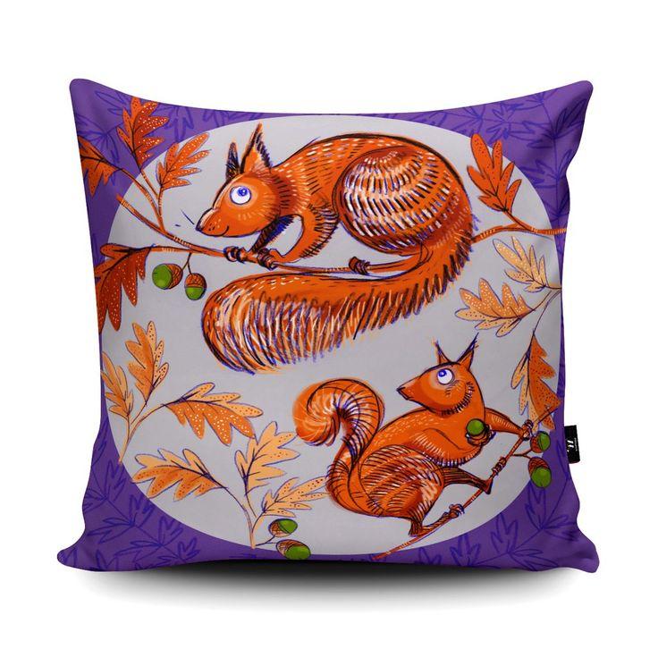 Unique Art Gifts | Agnes Owl Cushion | Wraptious