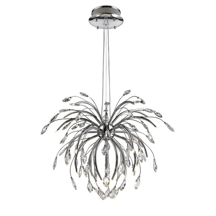 Iberlamp by Golden Lighting's Palm Pendant Chandelier #