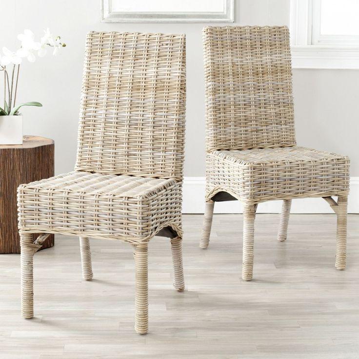 Best 25 Indoor Wicker Furniture Ideas On Pinterest  White Wicker Alluring Indoor Wicker Dining Room Sets Design Inspiration