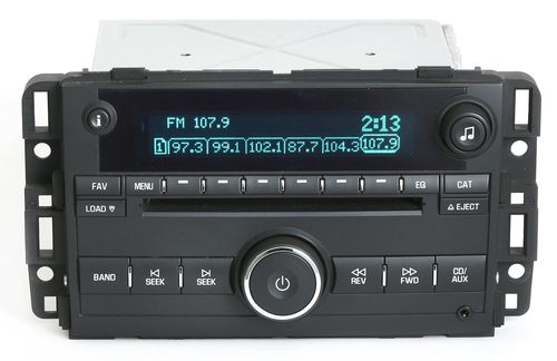 Chevy Monte Carlo 2007-2008 Impala AM FM 6 Disc CD Radio w Aux 15951759 Unlocked