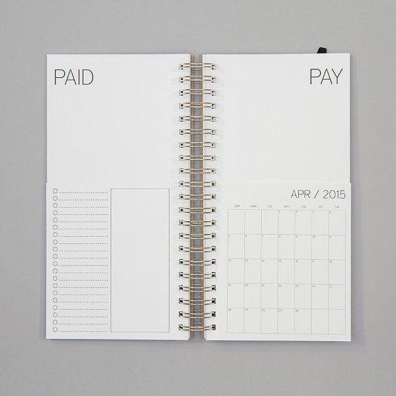 As 25 melhores ideias de Bill calendar no Pinterest Budget - bill calendar