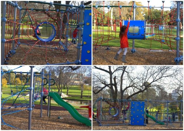 Rymill Park Playground | Whizzing Fun | Play and Go