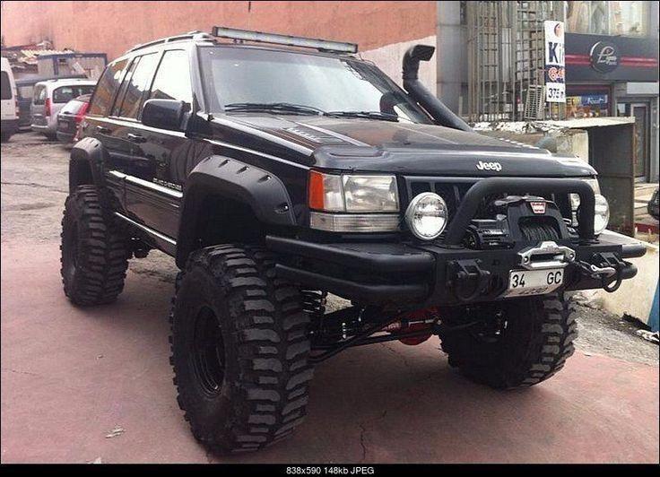Resultado de imagen de paragolpes jeep grand cherokee zj