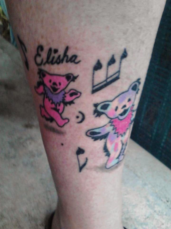 Grateful Dead tattoo # 122 Family of Dancing Bears