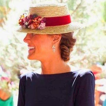 Sombrero canotier para boda  58163955a5c3