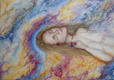 "Saatchi Art Artist Graham Edden; Painting, ""Ophelia"" #art"