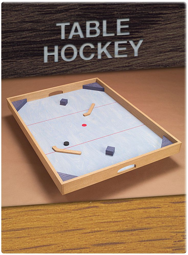 It's game time! This Table Hockey project will transform ...