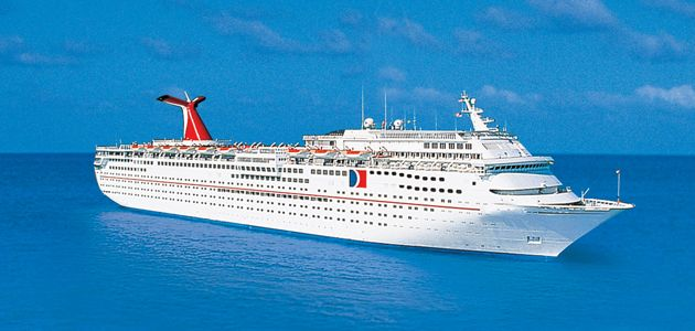 """Carnival Cruise Ship """"Fantasy""""... My husband proposed Valentine's Day on the top front bow... I'm a lucky girl!!  <3"""