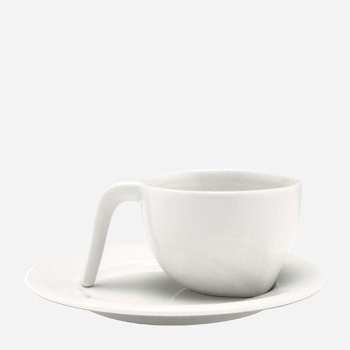 Iittala - Sarjaton, Aamiaiskuppi 0,4 l ja lautanen 19 cm