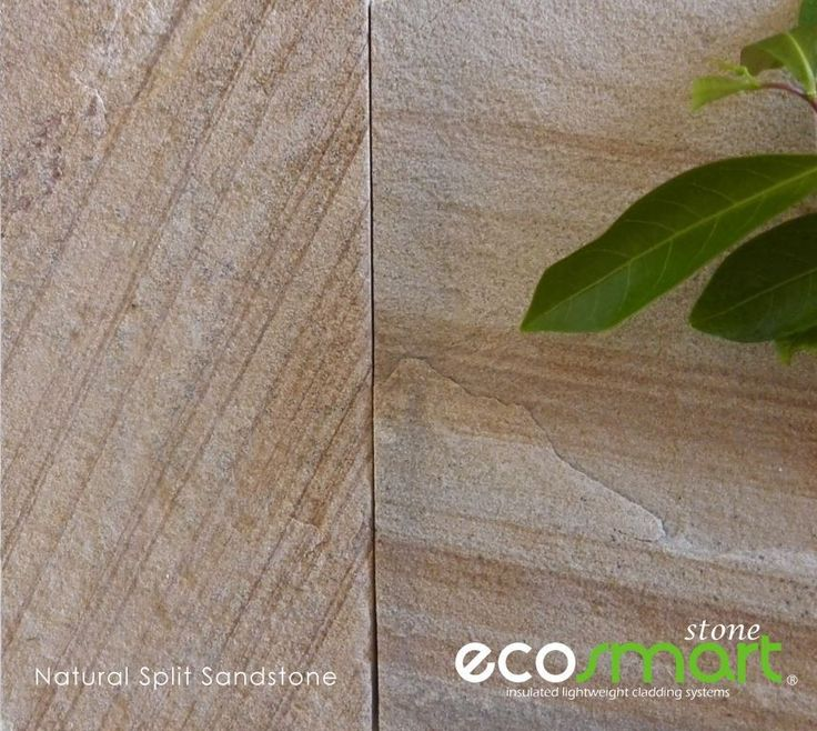 Natural split sandstone veneer cladding for real textural effect with a real rustic charm.
