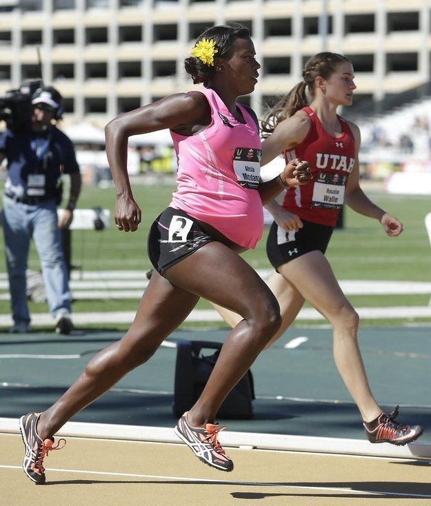 A five-time national champion, Alysia Montano, was ready for another race on Thursday. But this race would be just a little different, since...