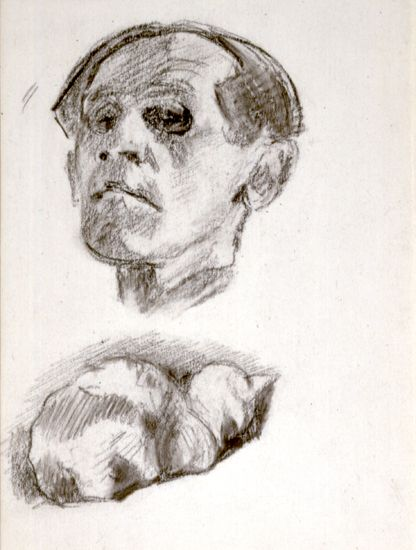Bruno Schulz (1892–1942), Self-Portrait, 1933