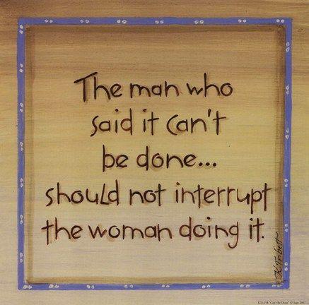 The man who said ...  :)