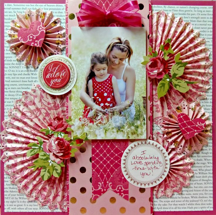 Anna Griffin using her new Juliet collection http://www.scrapbook.com/gallery/image/layout/5289131.html#XbEIevdlqzQ0APE8.99