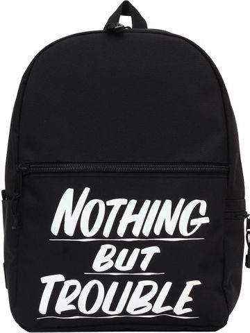 """Nothing But Trouble"" Backpack by Baron Von Fancy X Mojo Backpacks (Black)…"