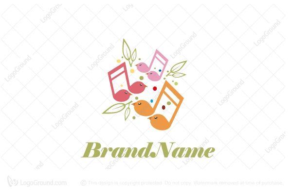 Logo for sale: Song Birds Logo