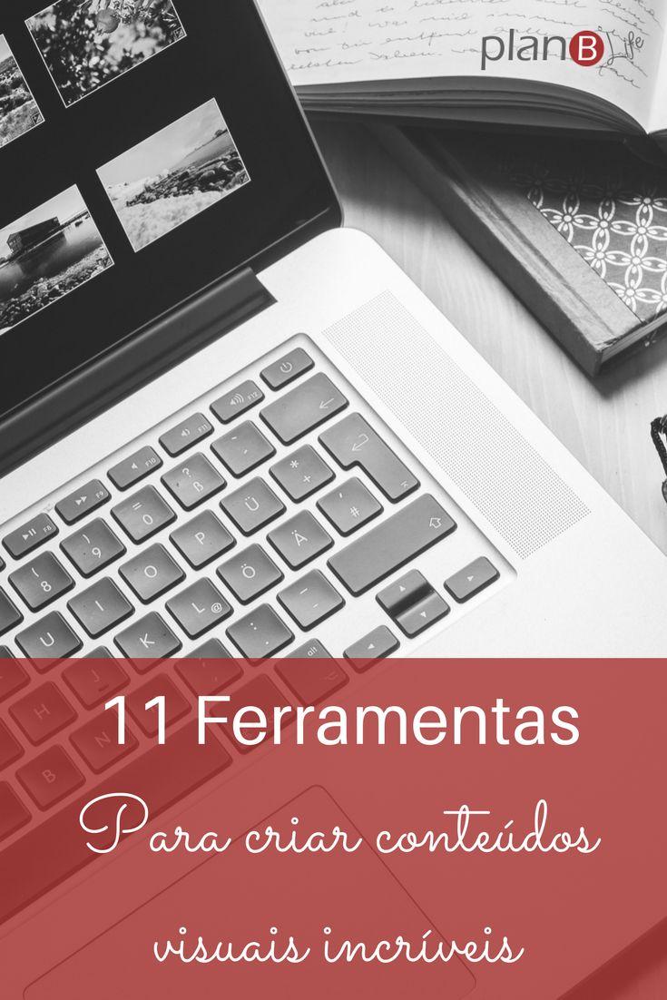 Conheça essas 11 ferramentas para criar conteúdos visuais e designs sensacionais.