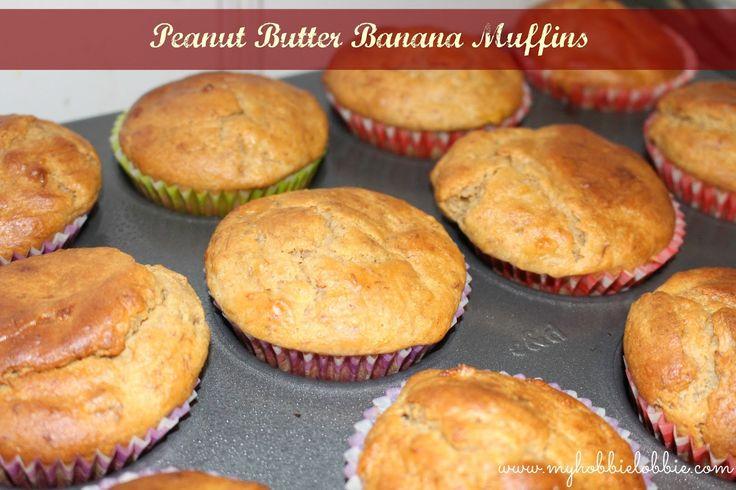 SRC: Peanut Butter Banana Muffins
