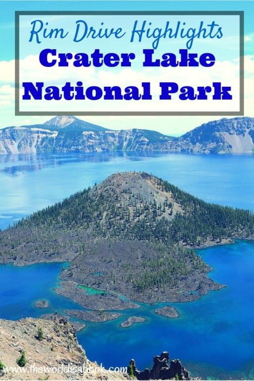 Guide and tips plus Highlights from the scenic Rim Drive around Crater Lake National Park with kids. See the sights around the country's deepest lake. | Oregon with kids | National Park with kids