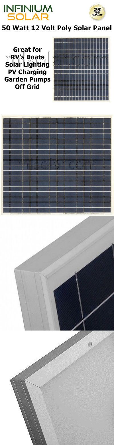 Solar Panels 41981: 50W 50 Watts 12V Poly Solar Cell Rv Solar Panel Pv Charger Boat Off Grid -> BUY IT NOW ONLY: $69.99 on eBay!