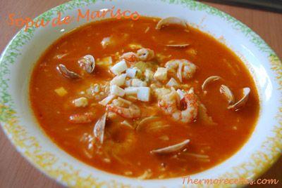 Sopa de Marisco Thermomix