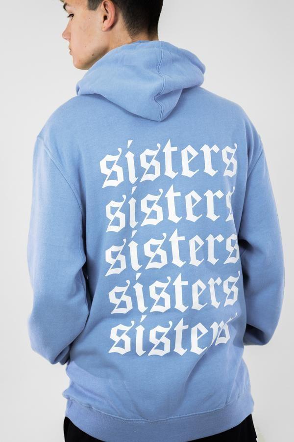 Blue sweatshirts Sky Is Falling Hoodie